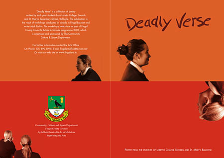 Deadly Verse poetry book cover