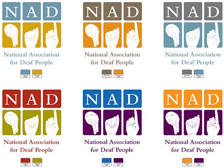 National Association for Deaf People identity