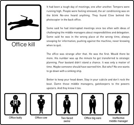 Office kill narrative