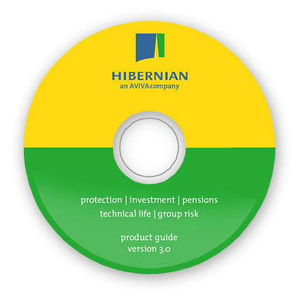 Hibernian CD label