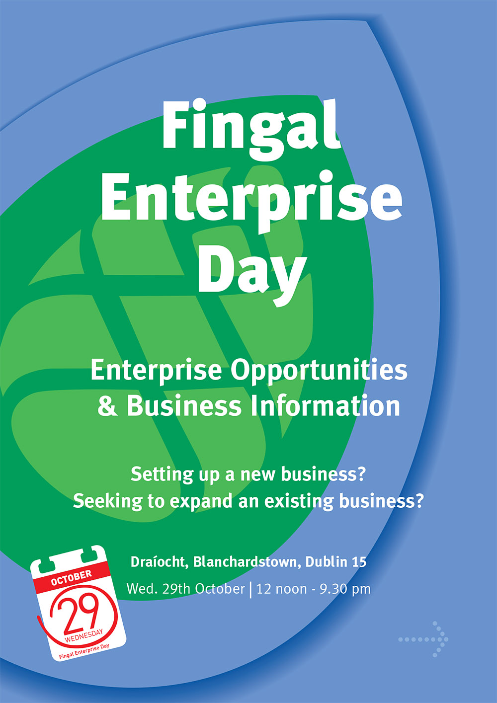 Fingal Enterprise Day poster