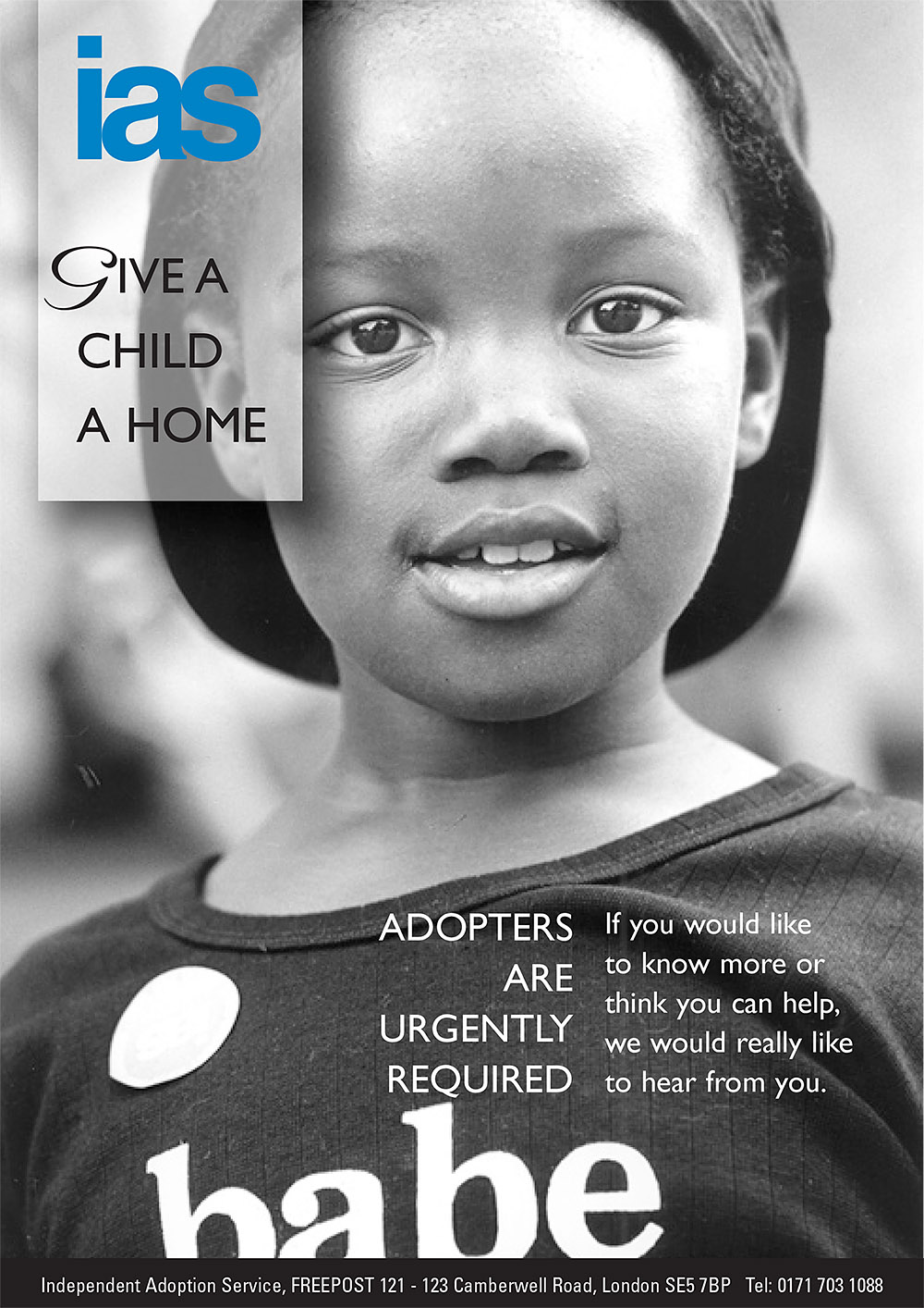 Independent Adoption Service poster