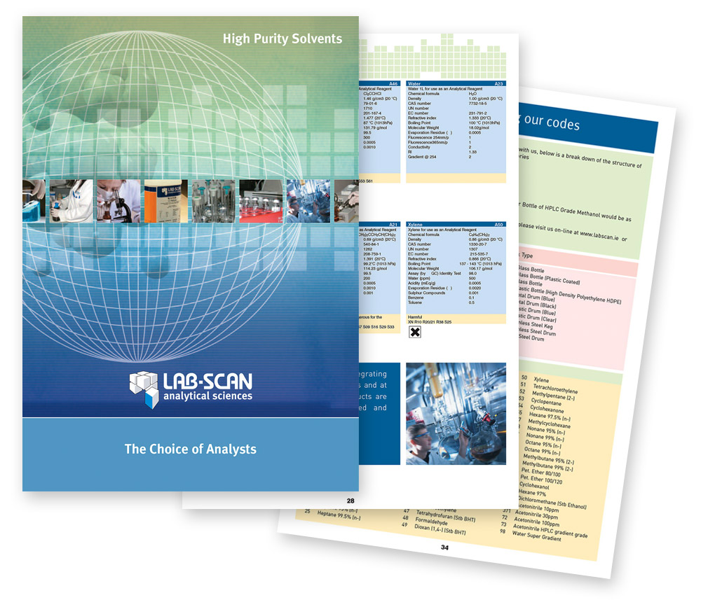 Labscan product catalogue