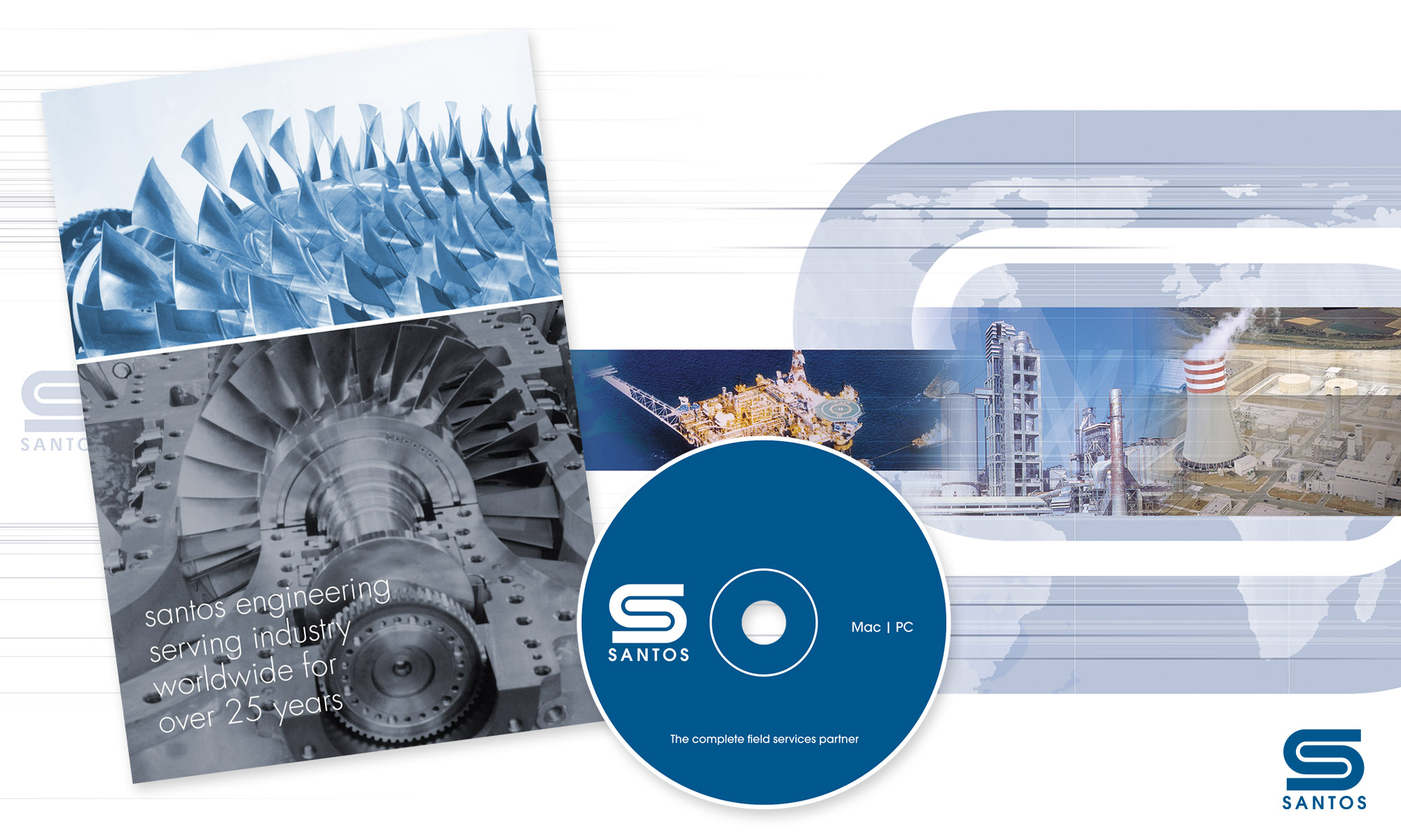Santos promotional brochure and CD